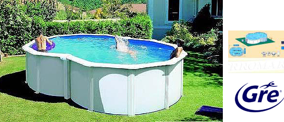 Piscina desmontable chile - Piscinas gre carrefour ...