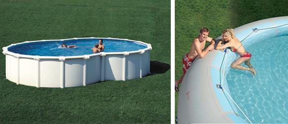 Las ventajas de las piscinas elevadas la web de las for Piscinas desmontables grandes