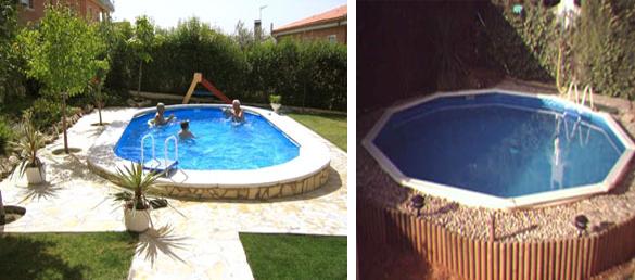 Montaje piscinas Gre de Madera