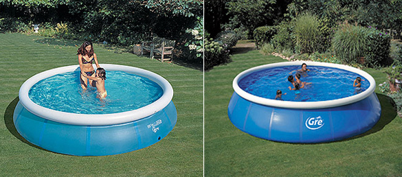 Hinchables la web de las piscinas elevadas for Piscinas desmontables hinchables