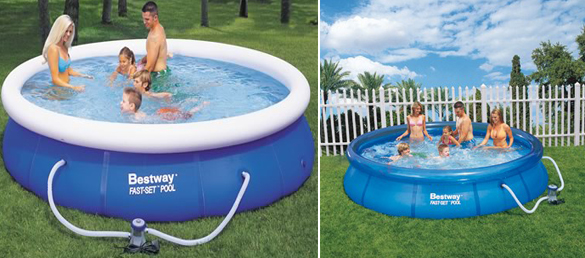 Piscina Hinchable Circular Fast Set Pool