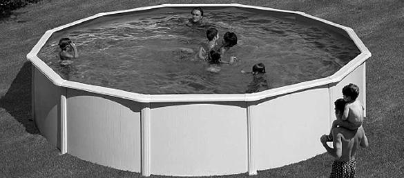 Piscina gre d 550 120 la web de las piscinas elevadas for Piscinas para espacios reducidos