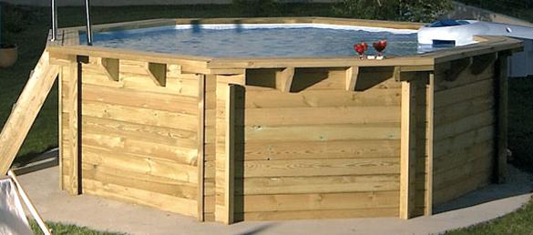 Piscina de madera de desjoyaux la web de las piscinas for Piscinas desjoyaux