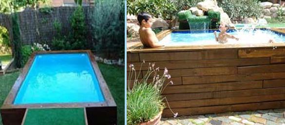 Sistema roipe para piscinas de madera la web de las for Piscina elevada madera