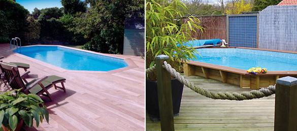 piscina elevada de madera sunsoka la web de las piscinas