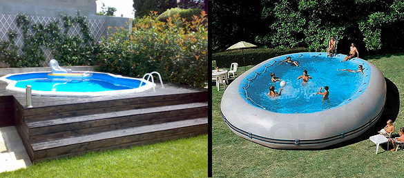 piscina tubular desmontable