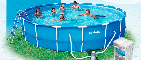 piscina desmontable steel pro de bestway
