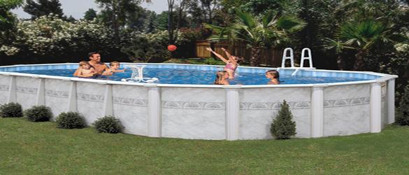 piscina sapphire de doughboy