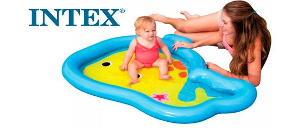 Piscina de bebé Ballenita de Intex