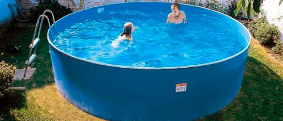 Piscina elevada de acero Azuro Lagoon Pool