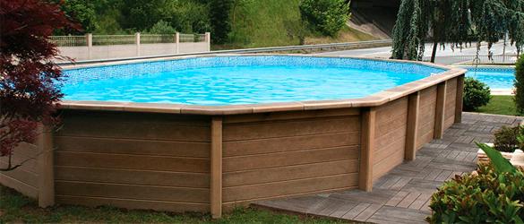La web de las piscinas elevadas for Estructura para piscina