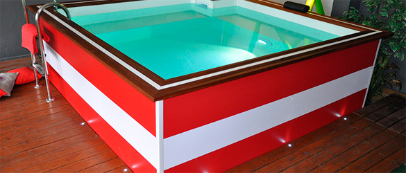 Ola, mini piscina y spa personalizable